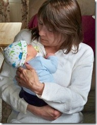 mom and baby tavin