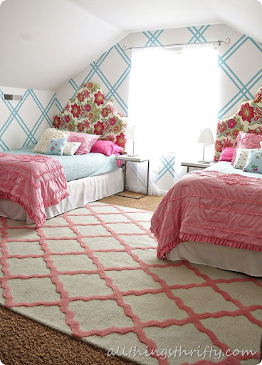 Girls Room With Rug