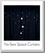 no sew space curtains