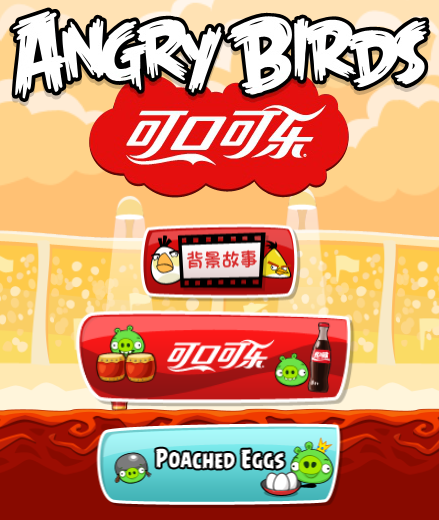 Jogar no Angry Birds Coca-Cola