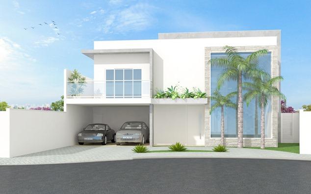 Projeto residencial -Fachada frontal
