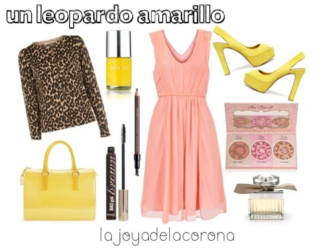 leopardo amarillo