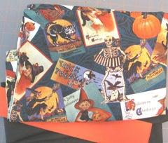 Pillow case Halloween print fabric1