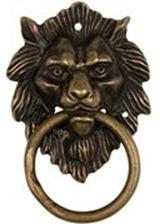 lion-pull-brass