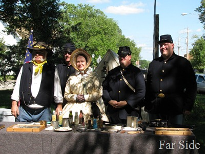 Civil War re enactors