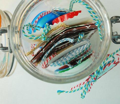Mason Jar Holiday Gift Tag Kit - The Silly Pearl