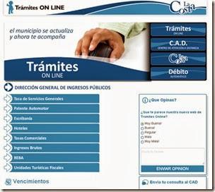La Página Web de la Municipalidad de La Costa ofrece nuevos servicios online