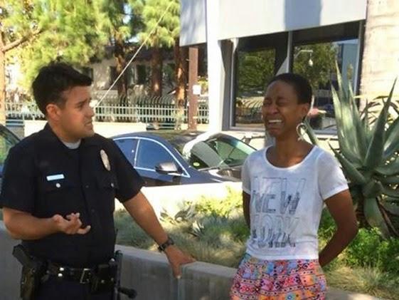 Daniele Watts detenida por la policía