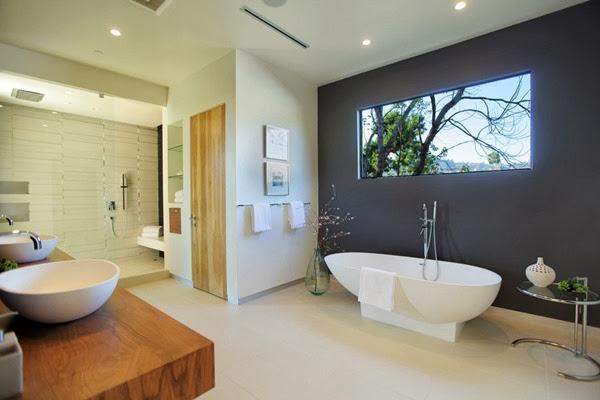 baño-de-diseño-con-bañera-ovalada