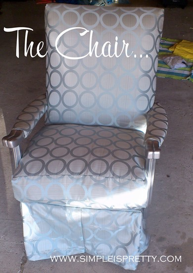 The Chair Completed from www.simpleispretty.com