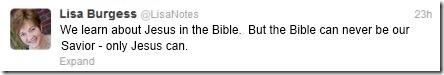 Jesus tweet