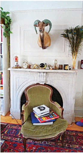 Swaim and Christina Hutson live in Cobble Hill, Brooklyn, with a clock obsession.