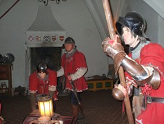 Warwick Castle - The Kingmaker Exhibition (2)