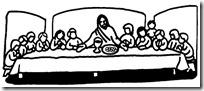 ultima cena jesus colorear (5)