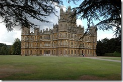 11.  downton abbey highclere castle