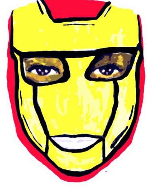 maquillaje de iron man (1)