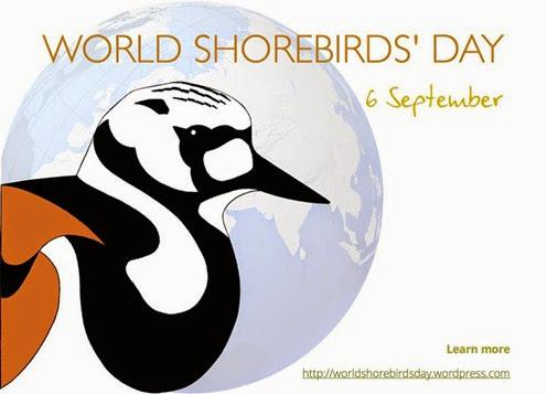 1. World Shorebirds Day label
