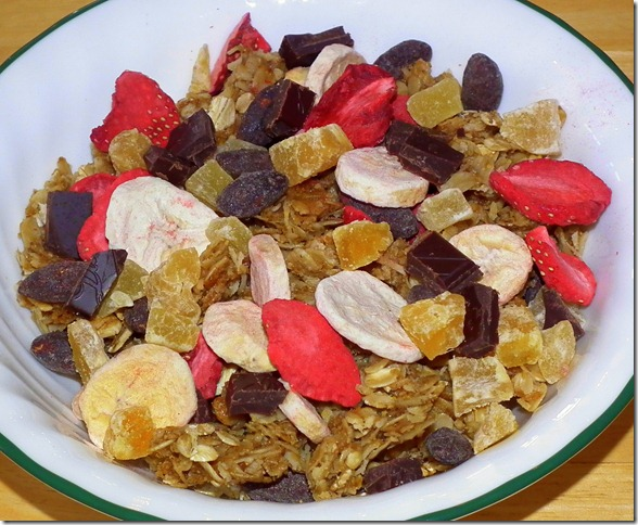 Banana Split Granola