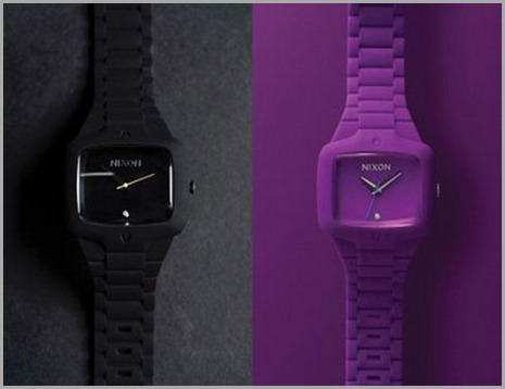 reloj-nixon-rubber-player-negro-purpura