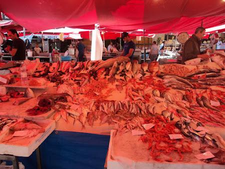 Imagini Sicilia: Catania Piata de peste