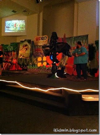 vbs 2014 Jesus paid it all on the cross