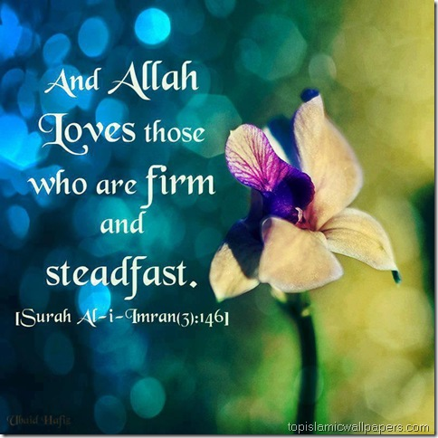 and_Allah_Loves_those_Quran_Verse_quote_with_image