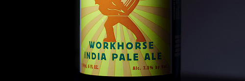 image of Workhorse India Pale Ale courteys of Portlandbeer.org's Flickr page