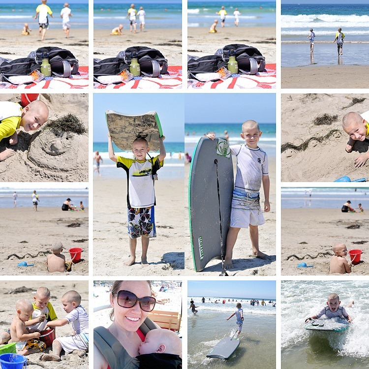 1st Day of School-Beach Collage4