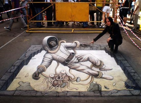 23. Astronauta en 3D