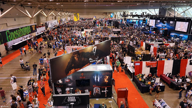 FANexpo in full swing at the Metro Toronto Convention Centre in Toronto, Ontario, Canada