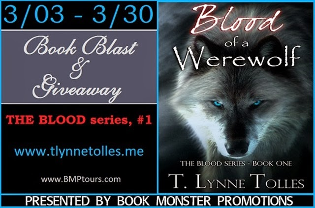 TOUR BUTTON - Blood of a Werewolf Book Blast