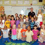 WBFJ Cici's Pizza Pledge - Millis Road Elementary Mrs. Dezern's Kindergarten Class - Jamestown - 5-9