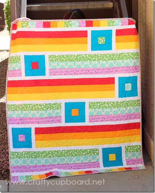 A Breezy Quilt by the Crafty Cupboard