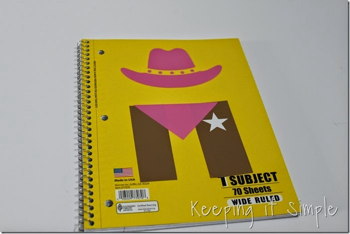 Disney themed notebooks (9)