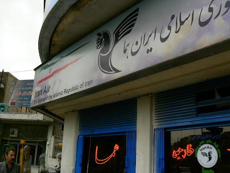 Teheran office: Iran Air