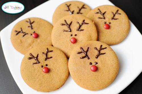 reindeer cookies by Meet The Dubiens