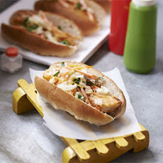 Fish Dogs With Lemony Fennel Slaw