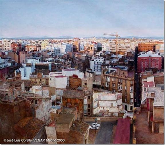 Paisaje urbano-Jose-Luis-Corella-ENKAUSTIKOS