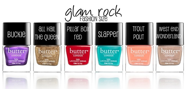 butter LONDON Glam Rock (Holiday 2013) #nails