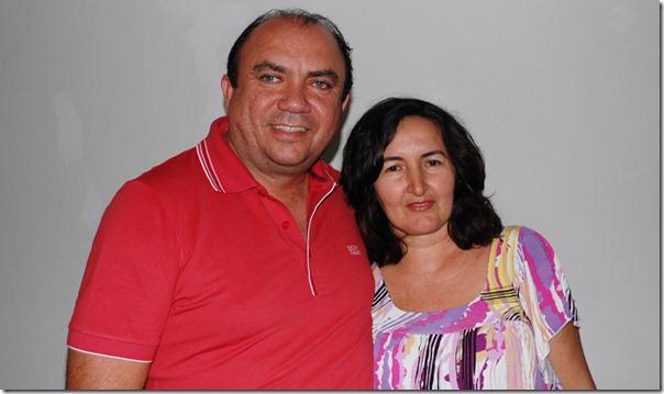 Rogerio Couro Fino e Jane Maia
