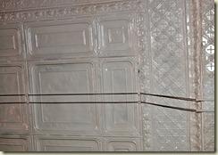 original pressed tin ceiling