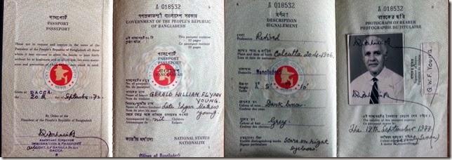 Gerald william passport collage