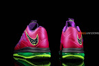 nike lebron 10 low gr purple neon green 1 03 Release Reminder: NIKE LEBRON X LOW Raspberry (579765 601)