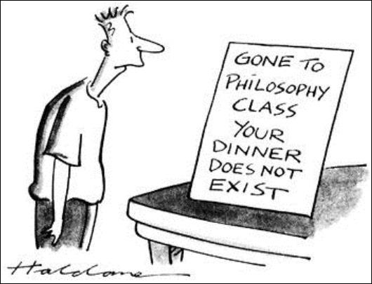 filosofo, logo não cozinho