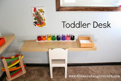 TODDLERS DESK