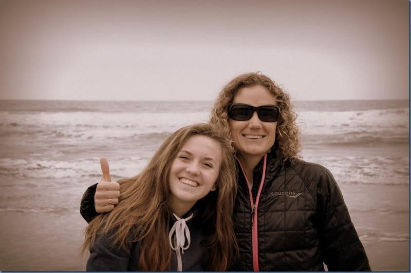 Chloe and Kate at Stinson Beach
