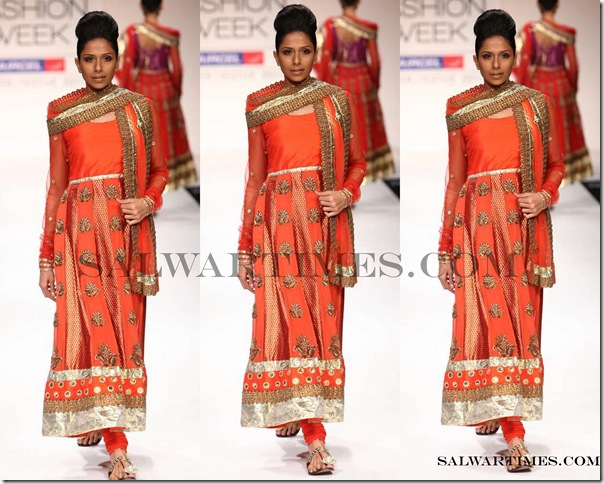 Payal_Kapoor_Orange_Designer_Salwar_Kameez