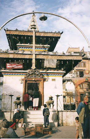 Sights of Nepal: Nepali temple in Durbar Square