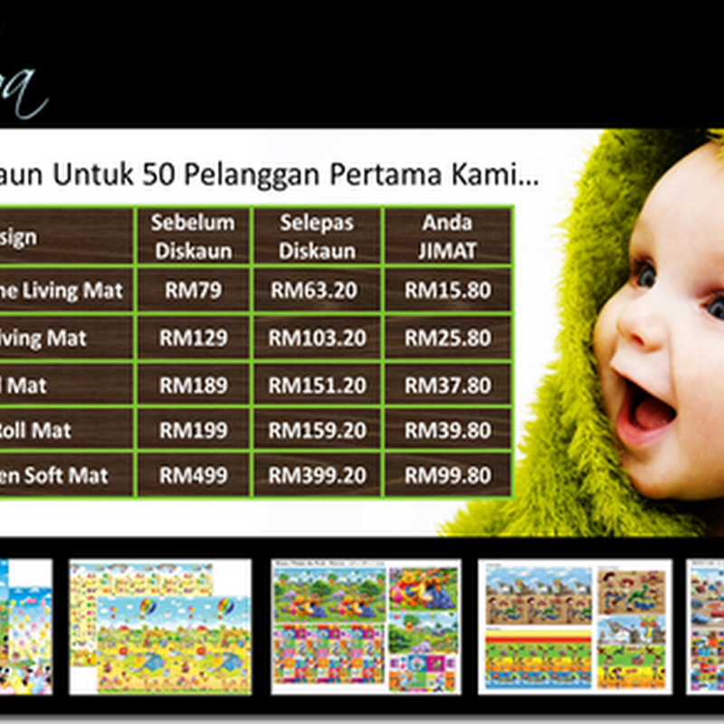 Mulawa Baby and Kids-Parklon Play Mat