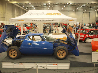 """""""otwarta"""" Lancia Strator"""